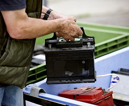 Achat et recyclage de batteries Rochefort